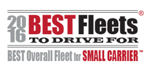 2016 Best Overall Fleet for Small Carrier