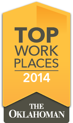 The Oklahoman's Top Workplaces 2014 Logo